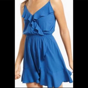 Express ruffle dress
